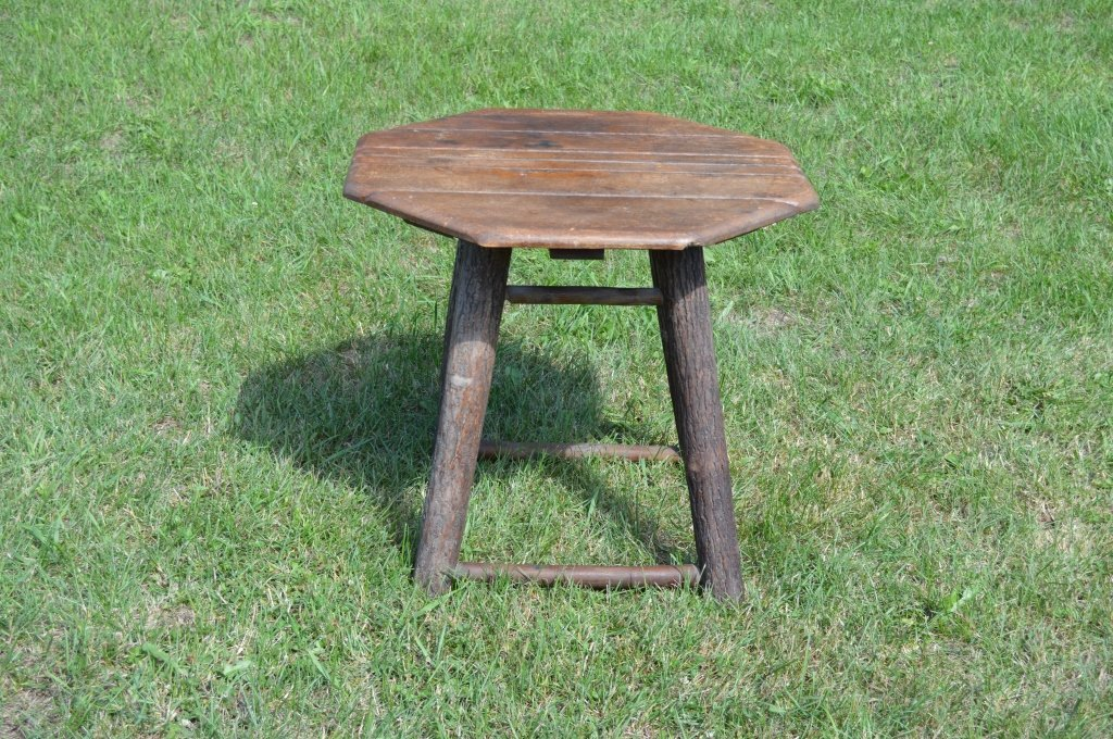 Branded Old Hickory Octagonal End Stand