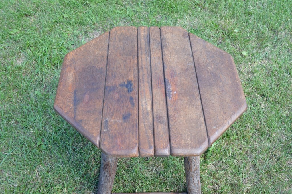 Branded Old Hickory Octagonal End Stand - 3