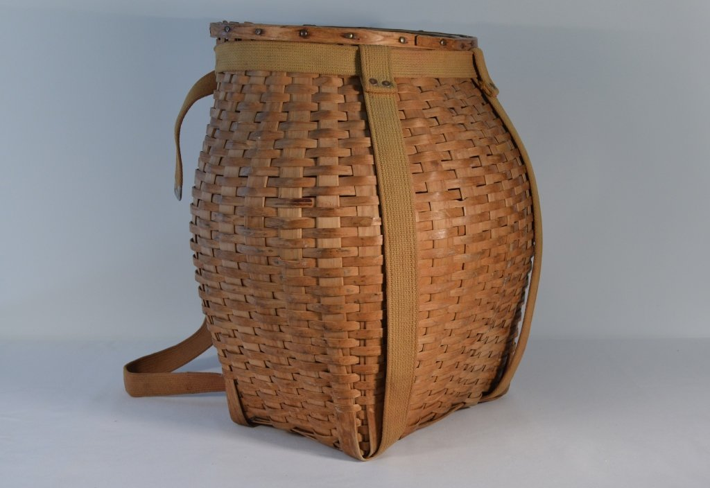 Adirondack Black Ash Pack Basket