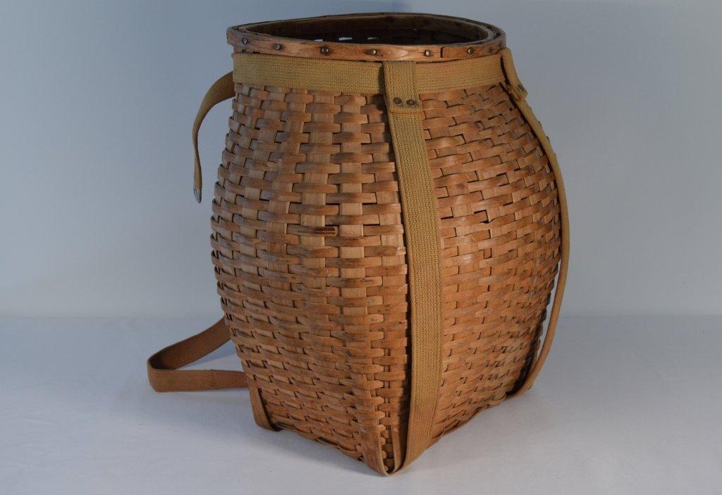 Adirondack Black Ash Pack Basket - 4