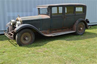 1928 Packard Four Door Sedan