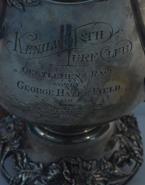 Sterling Silver Kenilworth Turf Club 1902 Trophy - 3