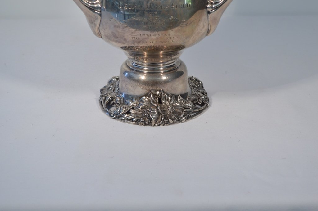 Sterling Silver Kenilworth Turf Club 1902 Trophy - 5