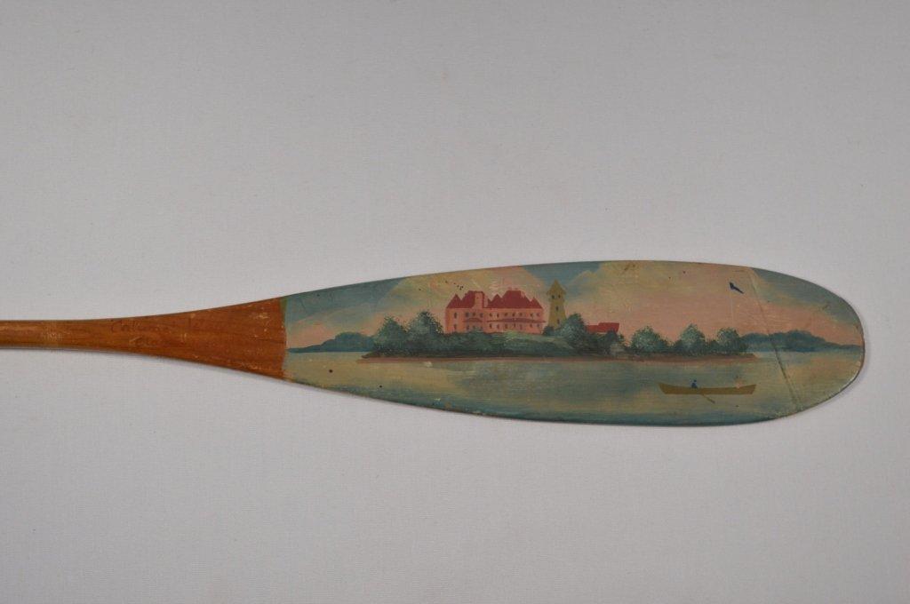 "Alpheus Keech ""Calumet Island"" Clayton Paddle - 3"