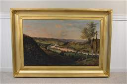 Levi Wells Prentice Museum Quality Oil on Canvas