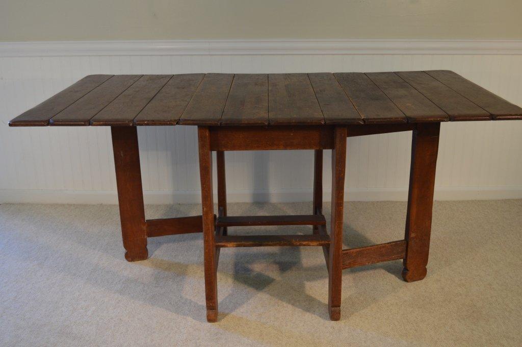 Branded Old Hickory Drop Leaf Gate Leg Table -715P - 2