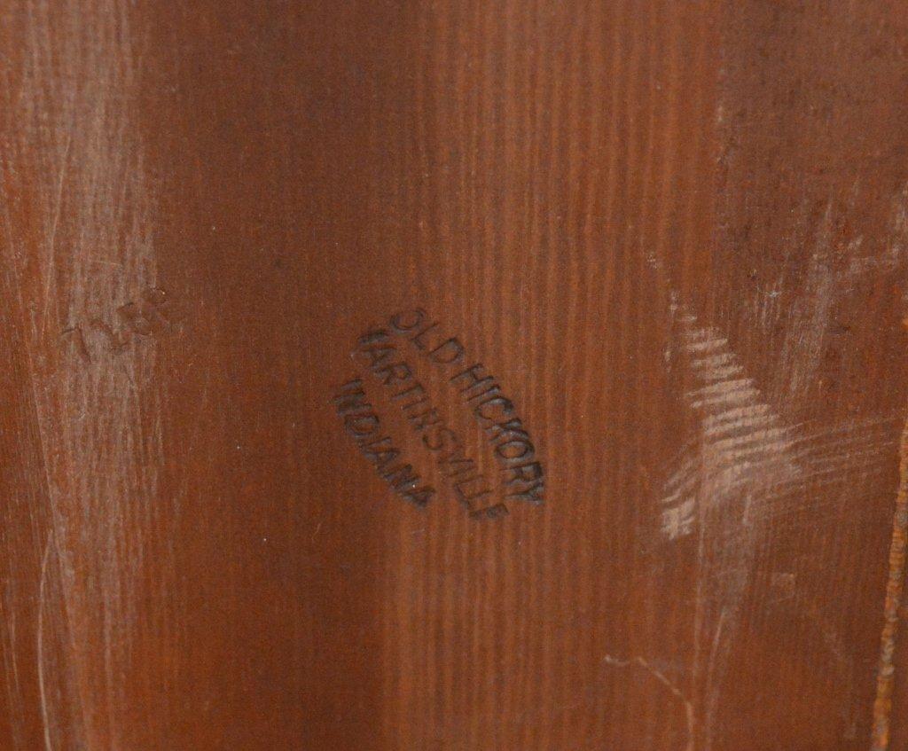 Branded Old Hickory Drop Leaf Gate Leg Table -715P - 3