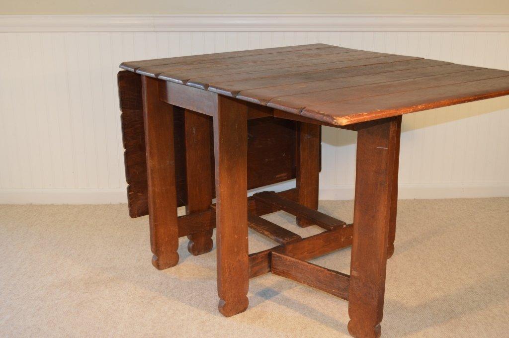 Branded Old Hickory Drop Leaf Gate Leg Table -715P - 5