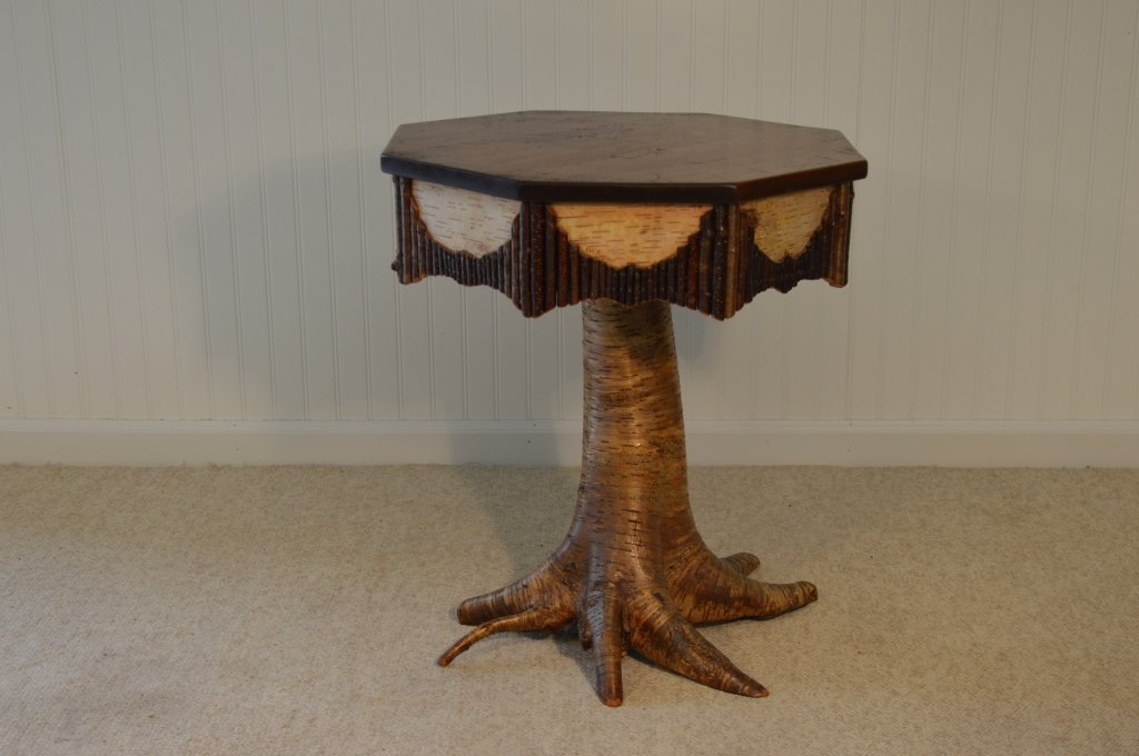 Christopher Wager Root Base Octagonal End Stand
