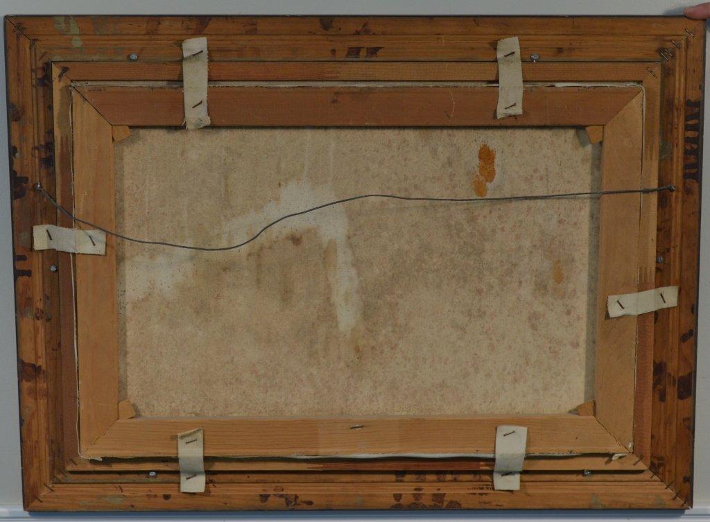 Gary Casagrain (Tupper Lake) Deer Oil on Canvas - 3