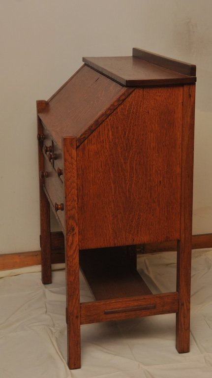 L. & J.G. Stickley Quarter Sawn Oak Writing Desk - 2