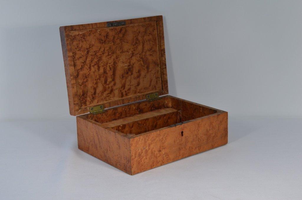 Birdseye Maple Document Box