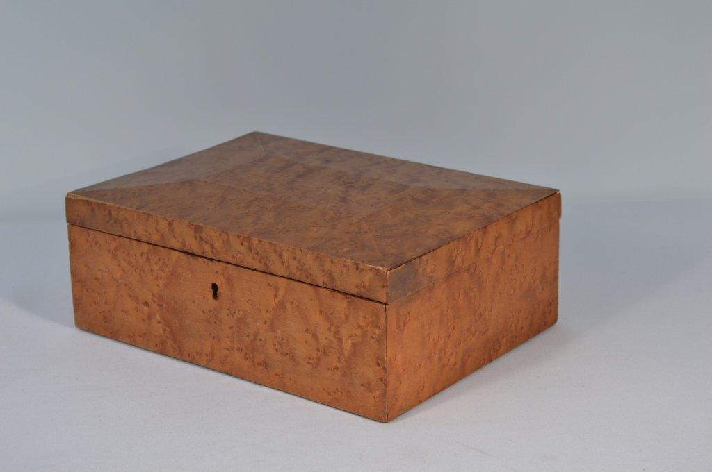 Birdseye Maple Document Box - 3