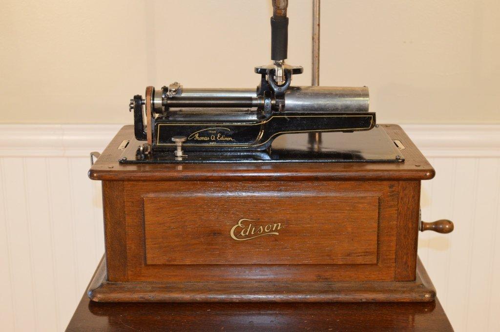 Edison Triumph Cylinder Phonograph - 2