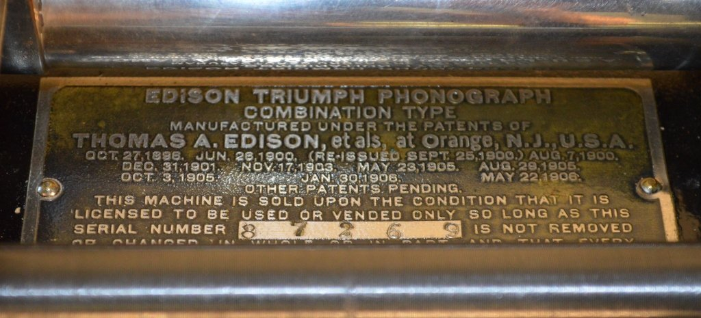 Edison Triumph Cylinder Phonograph - 3