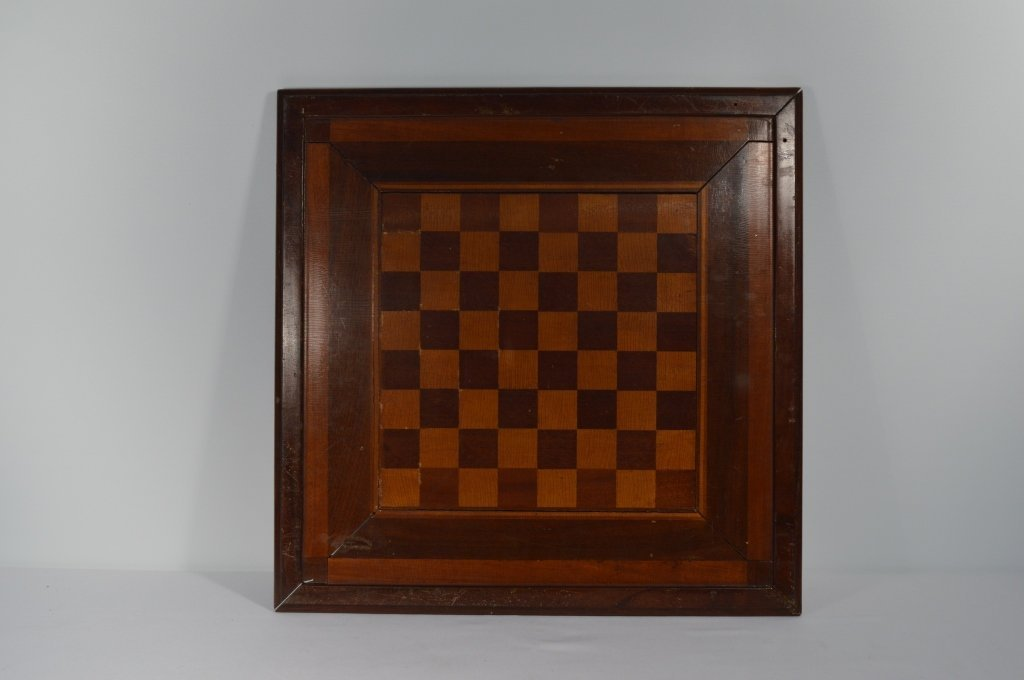 """Double Sided Inlaid Game Board - 18 1/2"""" x 18 1/2"""" - 2"""