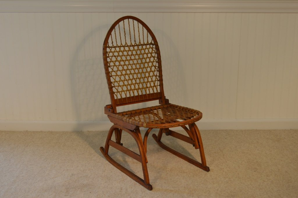 W. F. Tubbs Company Folding Sno Shu Chair