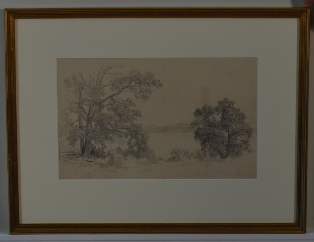 Pair of Drawings by J.W. Hill - 2