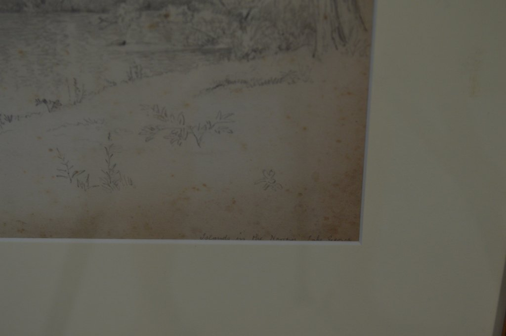 Pair of Drawings by J.W. Hill - 3