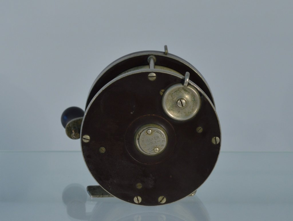 "Edward VomHofe Fishing Reel - 3 7/8"" in diameter - 2"