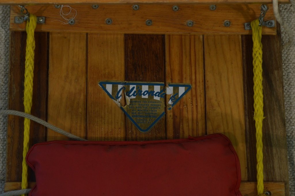 Adirondack-Peters Wooden Toboggan - 2