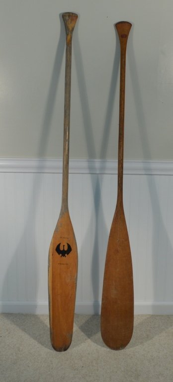 2 Canadian Paddles - R. Chestnut & Kettlewell