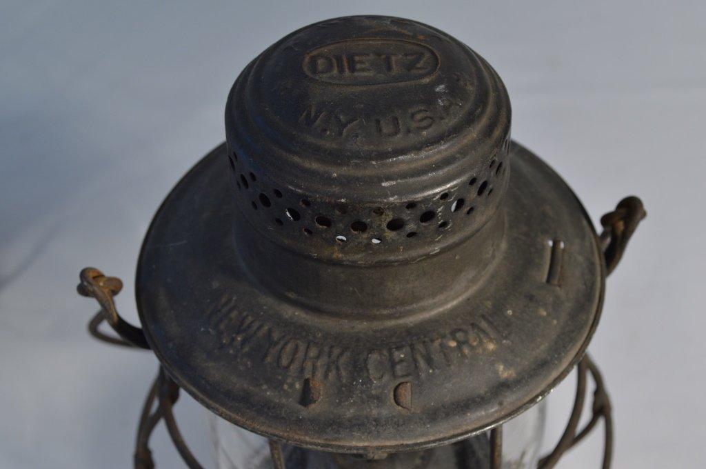2 Railroad Lanterns and a Railroad Hammer - 5