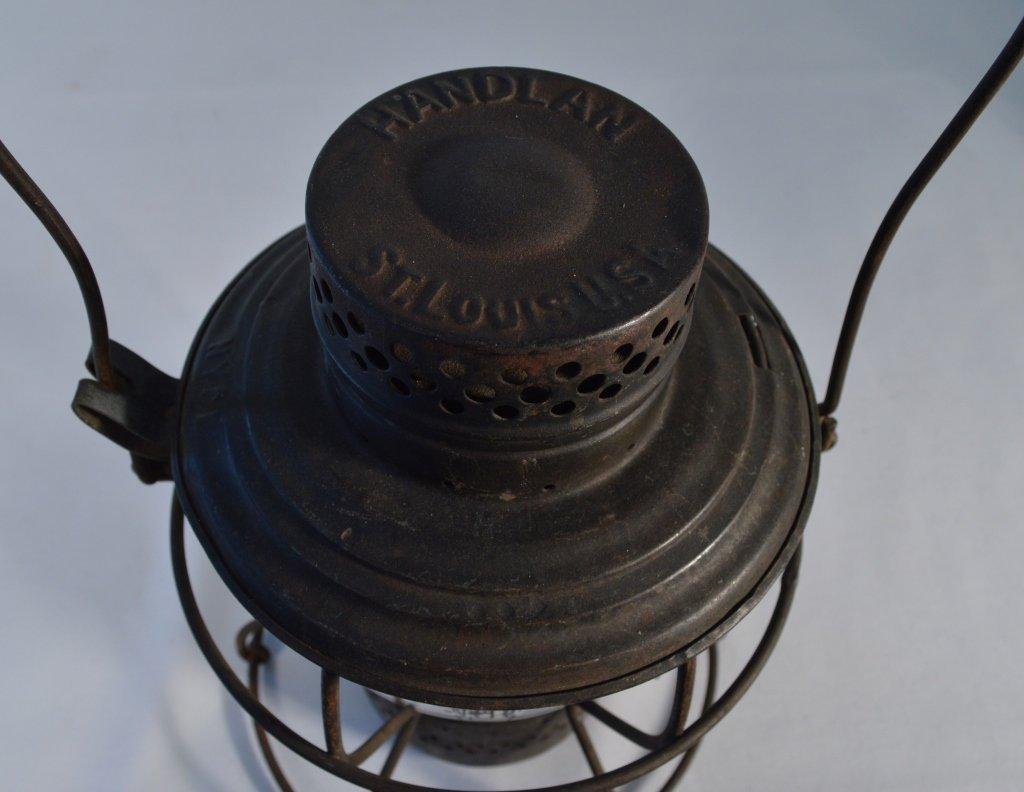 2 Railroad Lanterns and a Railroad Hammer - 7
