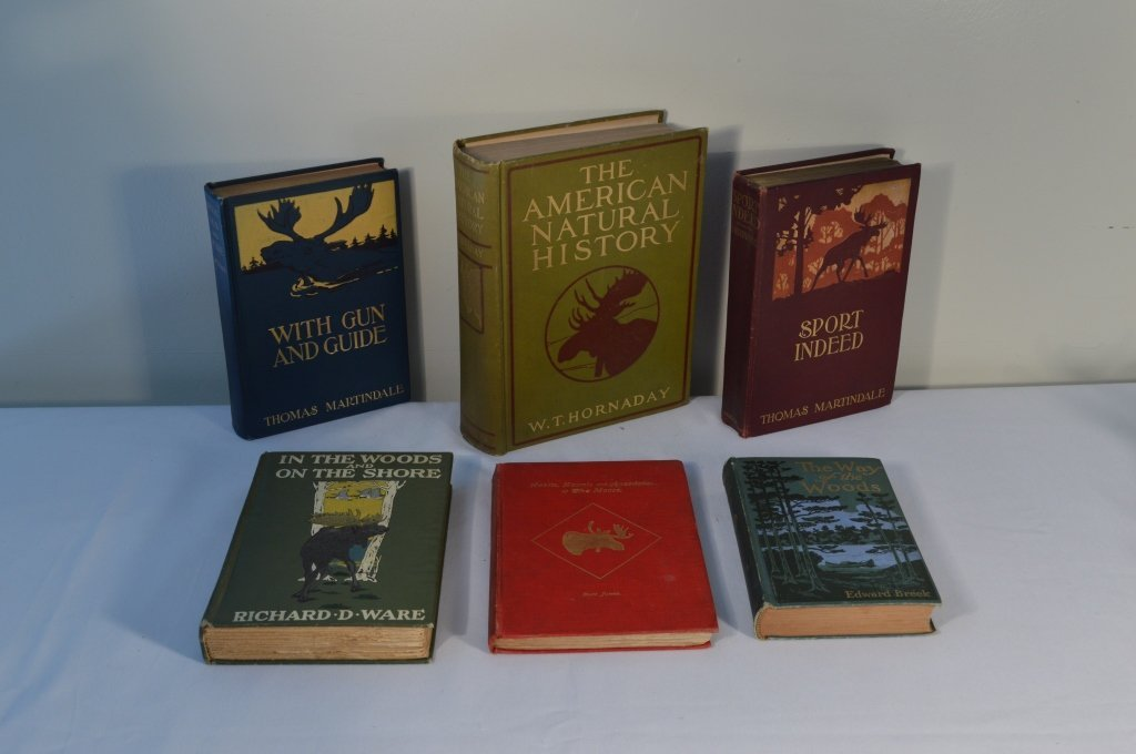 6 Big Game Sporting and Hunting Hardcover Books - 2
