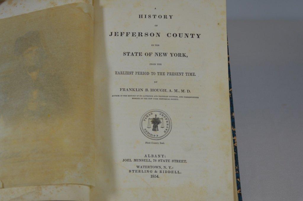 History of Jefferson County NY Book 1854 - 2