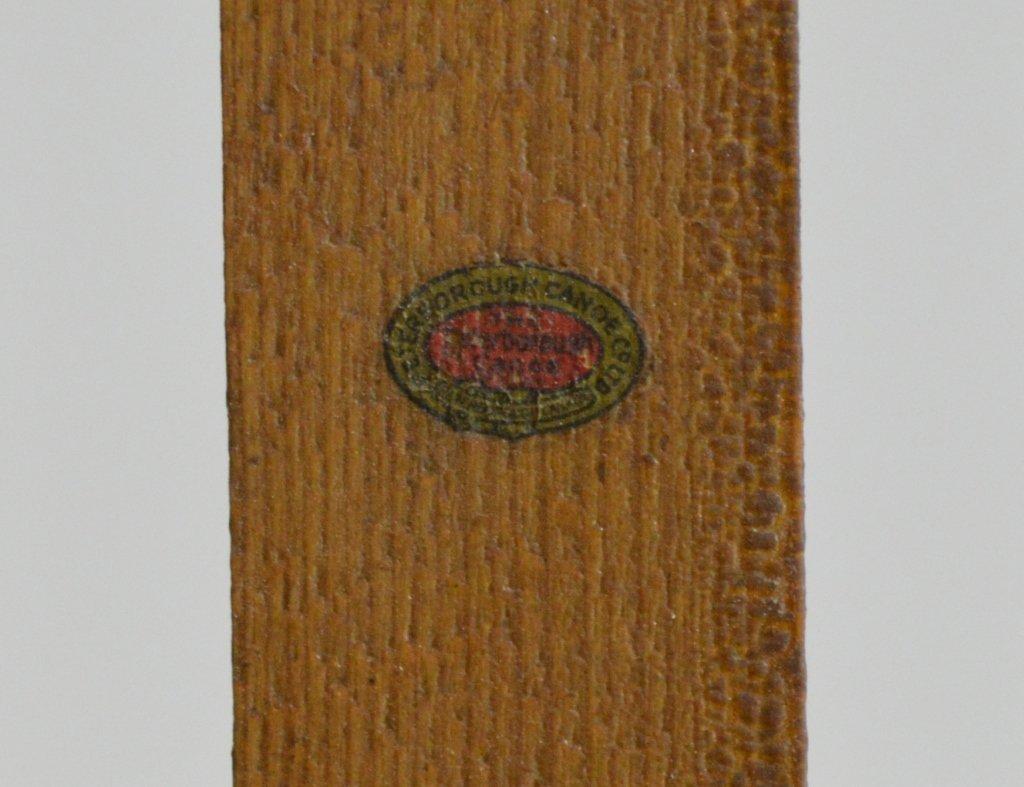 Wooden Canoe Seats - Signed - 2