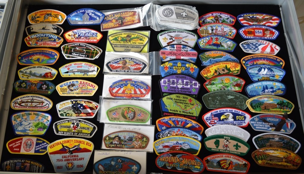 Boy Scout Badge Collection - Approx. 164 Pieces - 2