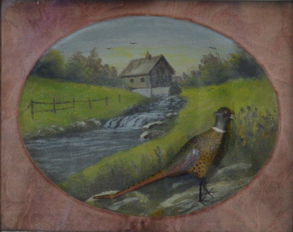 Elmer Crowell Carved & Painted Pheasants - 2