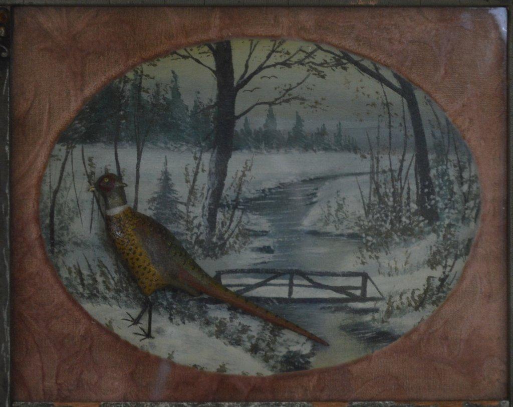 Elmer Crowell Carved & Painted Pheasants - 3