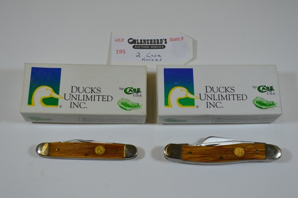 2 Ducks Unlimited Case Pocket Knives