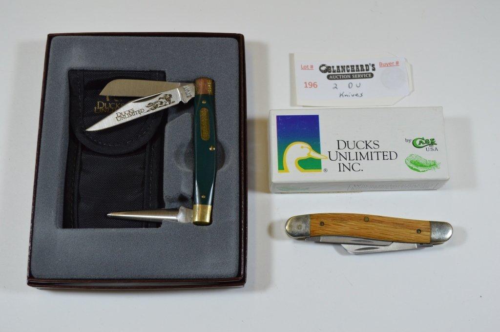2 Ducks Unlimited Pocket Knives