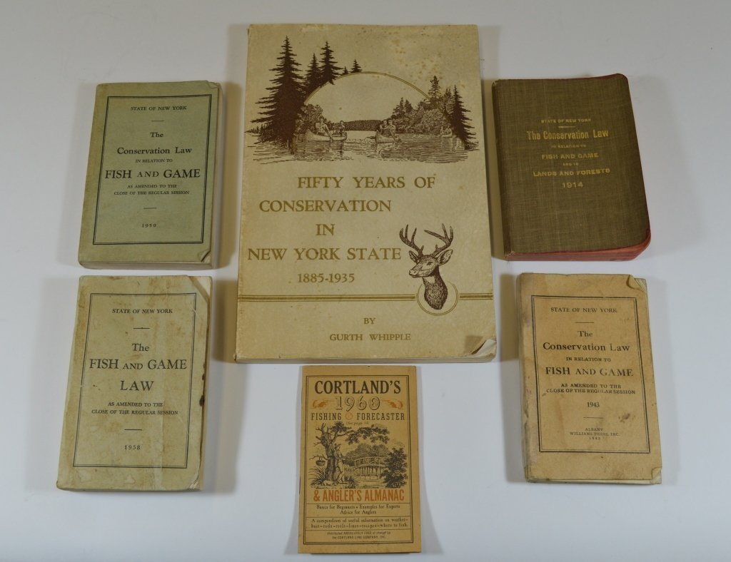 50 Year NYS Conservation Book 1935