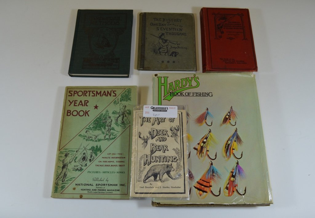 Group of Sportsman's Books and Booklets
