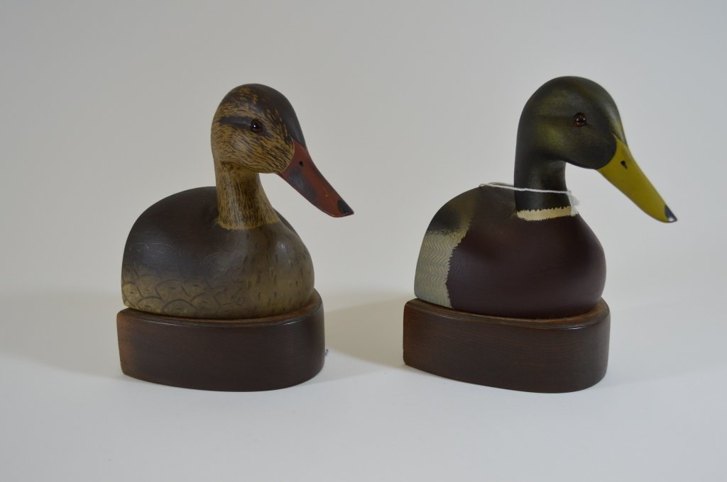 Ken Harris Hen and Drake Mallard Bookends