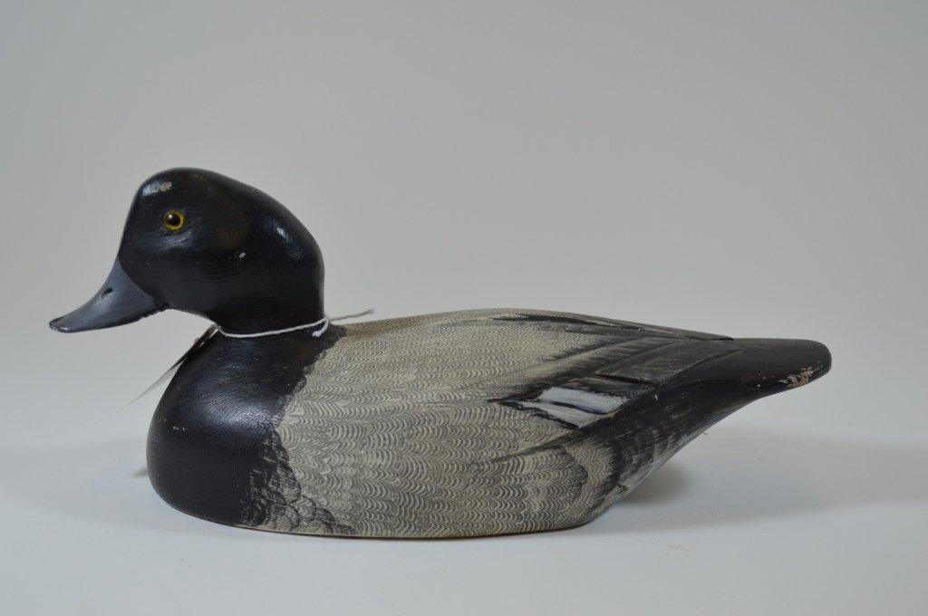 Canadian Blue Bill Duck Decoy - Unknown Carver - 2