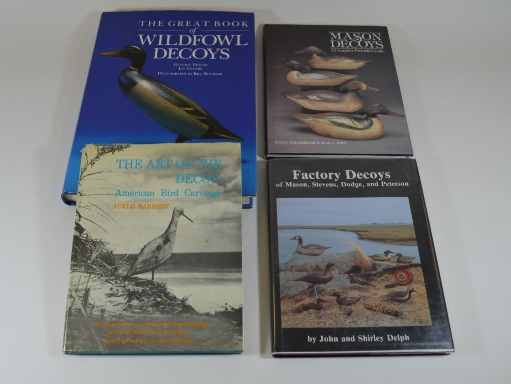 4 Hardcover Duck Decoy Books