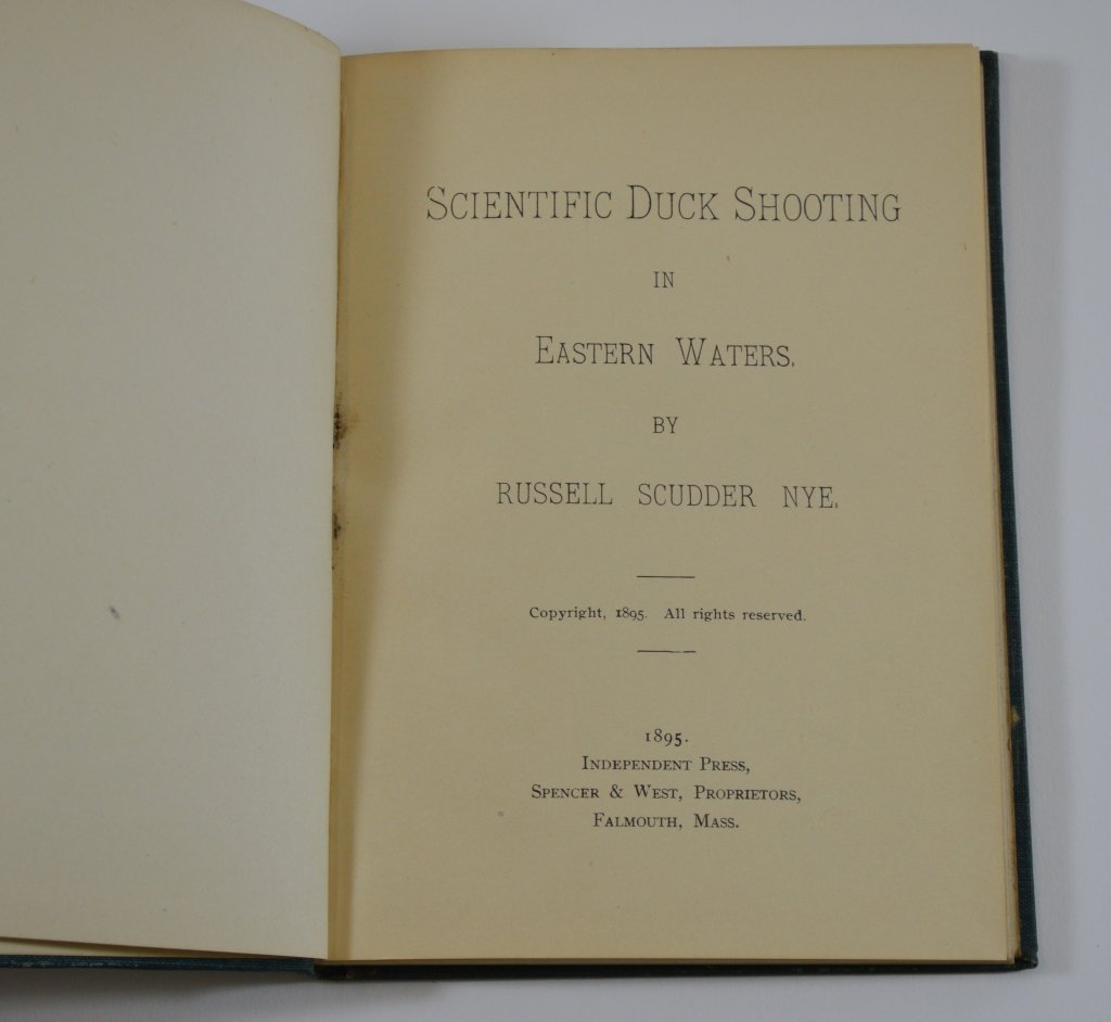 Scientific Duck Shooting Book, Russell Scudder Nye - 2