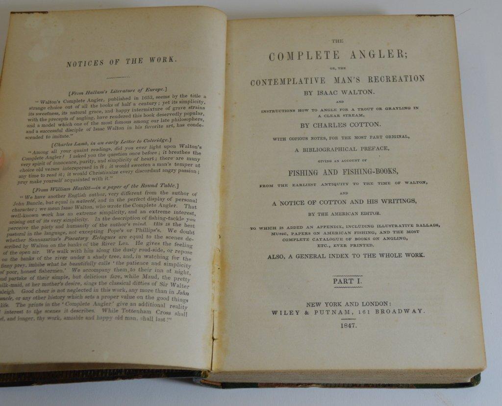 The Complete Angler - Izaak Walton 1847 - 2