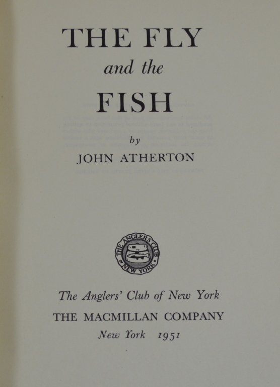 The Fly and the Fish by John Atherton 1951 - 2