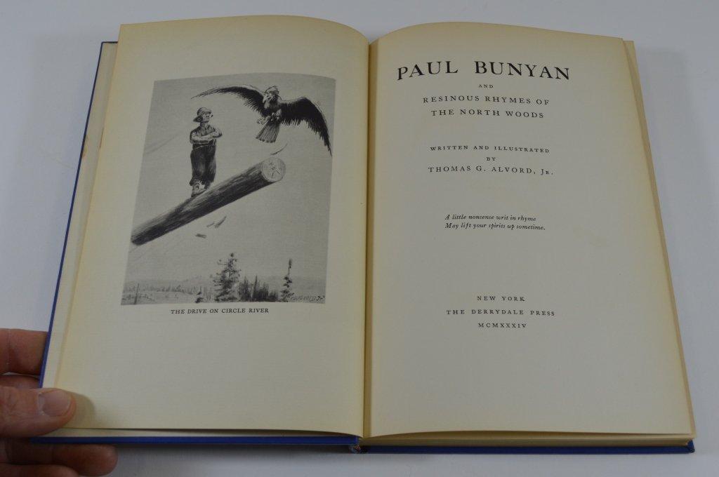 Derrydale Press - Paul Bunyan 1934 - 2