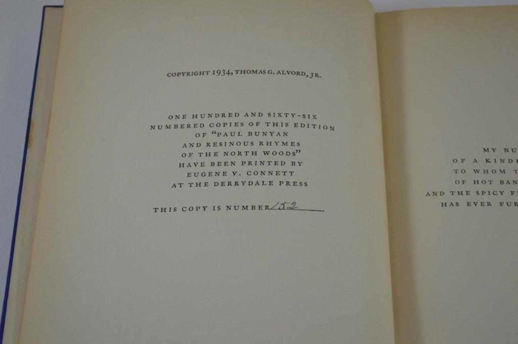 Derrydale Press - Paul Bunyan 1934 - 3