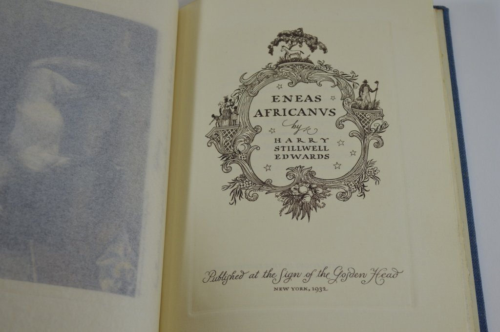 Eneas Africanvs by Harry Stillwell Edwards 1932 - 2