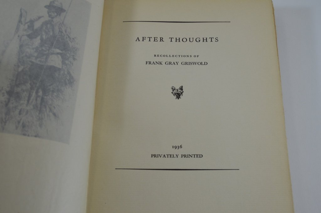 After Thoughts by Frank Gray Griswold 1936 - 2