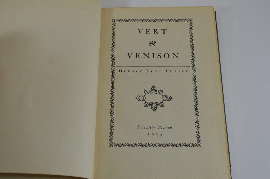 Vert & Venison by Horace Kent Tenney 1924 - 2