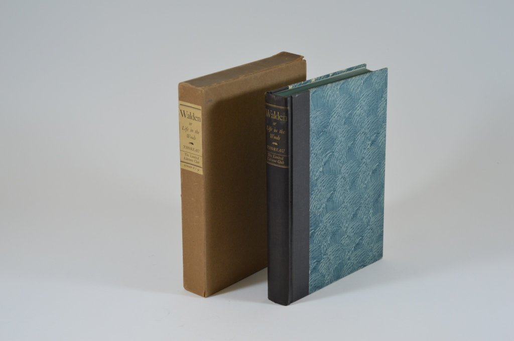 Walden by Henry David Thoreau 1936